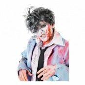 Grå Zombie Peruk - One size