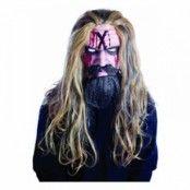 Rob Zombie Latexmask med Hår