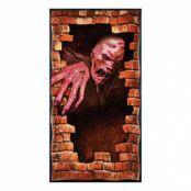 Smältande Zombie Dörrposter
