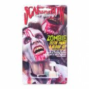 Zombie Tandfärg & Blod