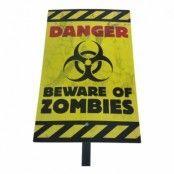 Zombie Varningsskylt